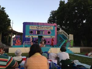 Twelfth Night at Schiller Park. Photo by Mike Hanck. Used with permission.